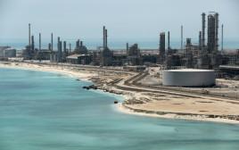 בית זיקוק לנפט בסעודיה