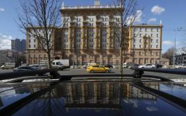 """שגרירות ארה""""ב ברוסיה"""