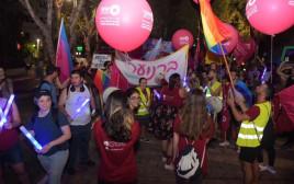 הצעדה לציון 9 שנים לרצח בבר נוער
