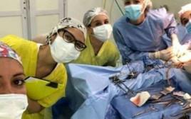 עצרו ניתוח בשביל סלפי