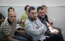משפחת לוברסקי בבית המשפט