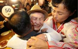 פגשה את בנה לראשונה לאחר 68 שנים. רגע האיחוד בין קיום סיום לסאנג צ'ול