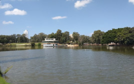 האגם בפארק הלאומי