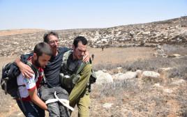 פינוי פעילי שמאל בדרום הר חברון