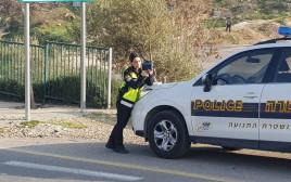 שוטרת במשטרת התנועה