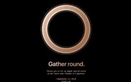 הזמנה לאירוע של אפל