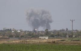 התקיפה הישראלית ברצועת עזה, הבוקר