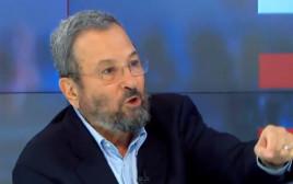 אהוד ברק מפוצץ ראיון