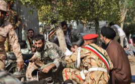 פיגוע במצעד צבאי באיראן