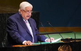 שר החוץ הסורי וליד אל מועלם