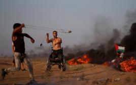 מהומות בגבול רצועת עזה