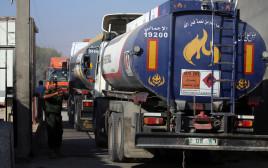 מכלית דלק בכרם שלום