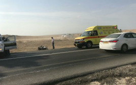 תאונת האופנוע סמוך למשמר הנגב