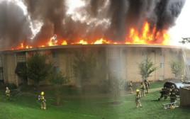 שרפה את הבניין בו התגורר האקס שלה כנקמה