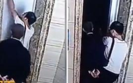 רצח או תאונה? גבר נפל לתוך פיר של מעלית בסין