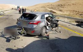 תאונת דרכים ליד דימונה