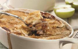 עוגת תפוחים ויין