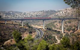 """קו הרכבת המהיר מירושלים לנתב""""ג"""