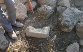 אבן ריחיים ששימשה לטחינת לחם