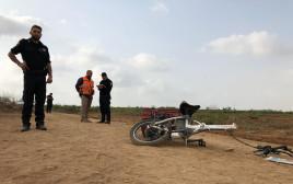 רוכב אופניים נהרג בתאונה במועצה האזורית חוף אשקלון