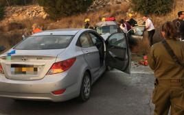 תאונת דרכים סמוך לבית אריה