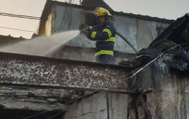 שריפה בשוק הכרמל