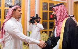 מוחמד בן סלמאן ובנו של ג'מאל חשוקג'י