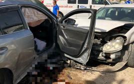 תאונה בכפר קרע