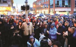 טקס לזכר הנרצחים בטבח בפיטסבורג