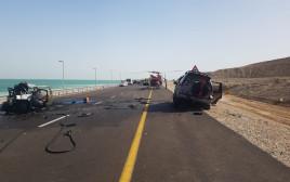 התאונה הקשה בכביש 90