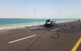 תאונה הקשה בכביש 90