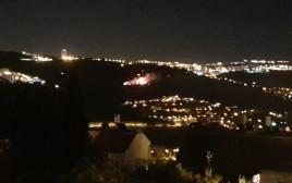 שריפה ביער בירושלים
