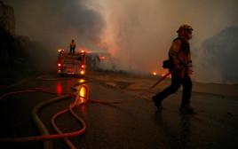 שריפת הענק בקליפורניה