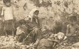 אזרחי לבנון מוכי רעב בשנת הארבה