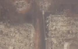 ממדי ההרס בשריפות הענק בקליפורניה