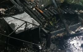 שריפה בדירה בבצרה