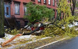 סופת שלגים בניו יורק