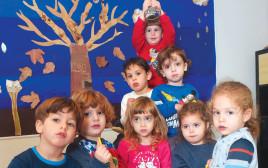 ילדים חוגגים חנוכה, ארכיון (למצולמים אין קשר לנכתב בכתבה)