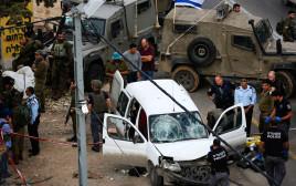 פיגוע דריסה בגוש עציון: שלושה חיילים נפצעו, המחבל נוטרל. צפו בתיעוד