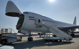 """מטוס 747 של חברת """"פארס אייר קשם"""""""