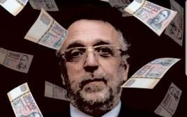 הקריקטורה האנטישמית של נשיא קהילת יהודי הונגריה