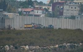 """כוחות צה""""ל פועלים בגבול לבנון במסגרת מבצע מגן צפוני"""