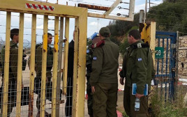 """מפגש בין נציגי צה""""ל לנציגי צבא לבנון"""