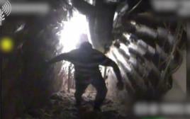 איש חיזבאללה שתועד במנהרת הטרור