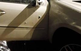 הרכב בו נורה אחמד סלאמה בדאוי