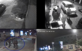 מצלמות בצלם מתעדות את הירי במוחמד חבאלי