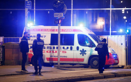 """משטרת צרפת באזור הירי ב""""שוק חג המולד"""" בשטרסבורג"""