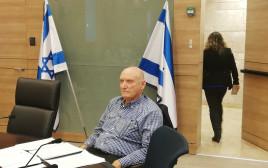 אלוף במיל' יצחק בריק בוועדה לביקורת המדינה