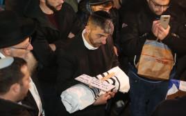 הלווייתו של עמיעד ישראל, התינוק שנרצח בפיגוע בעפרה