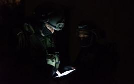 פעילות כוחות הביטחון ללכידת המחבל מאזור התעשייה ברקן